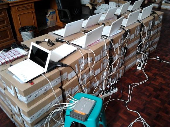 Ethernet'e cuma 8 ports tok